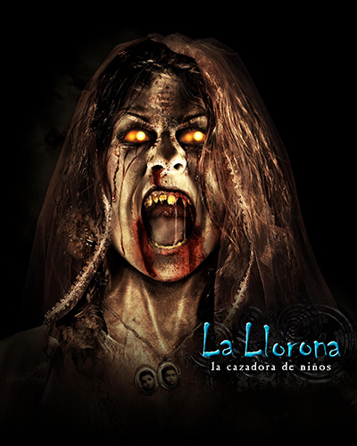 LA LLORONA returns to haunt Universal Hollywood's Halloween Horror Nights in 2012