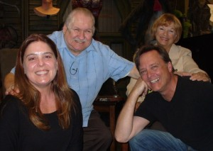 (L to R) Trish Geiger, Bob Burns, Frank Dietz, Kathy Burns, stars and filmmakers of BEAST WISHES