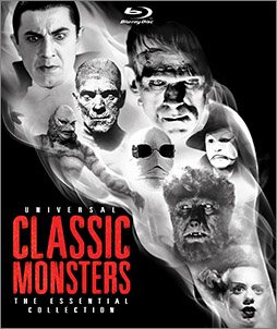 Universal Classic Monsters: The Essential Collection debuts on Blu-ray October 2, 2012