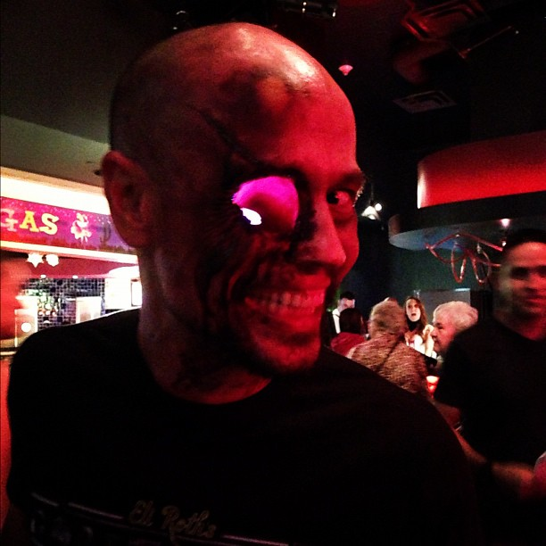 Just one of our cast members who will keep an eye out for you to come see Eli Roth's GORETORIUM.