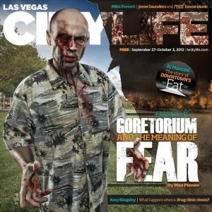 Las Vegas City Life cover: Eli Roth's Goretorium and the Meaning of Fear