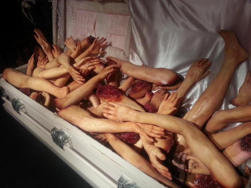 There is no truth to the rumors that admission to Eli Roth's GORETORIUM costs you an arm and a leg.