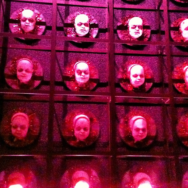 Just one demented reason how the Baby Dolls lounge got its name at Eli Roth's GORETORIUM.