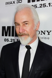 Makeup and effects artist Rick Baker at the premiere of MEN IN BLACK 3