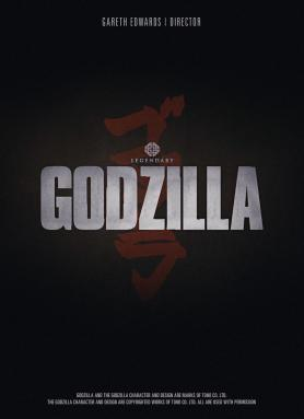 Teaser poster for Gareth Edwards' GODZILLA (2014)
