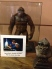 Stop-motion animator David Allen's Kong puppet made for the PBS IMAX film 'Special Effects: Anything Can Happen'