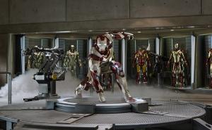 Marvel's IRON MAN 3. Tony Stark/Iron Man (Robert Downey Jr.). Ph: Film Frame. © 2012 MVLFFLLC. TM & © 2012 Marvel. All Rights Reserved.