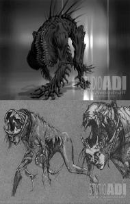 Creature concept art by Studio ADI