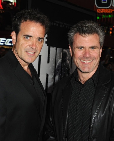 (L to R) Tom Woodruff Jr. and Alec Gillis, co-founders of Studio ADI and filmmakers championing the cause of practical effects.